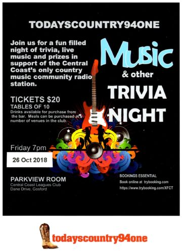 TC941 Music Trivia Night