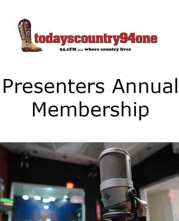 Presenters Annual Membership