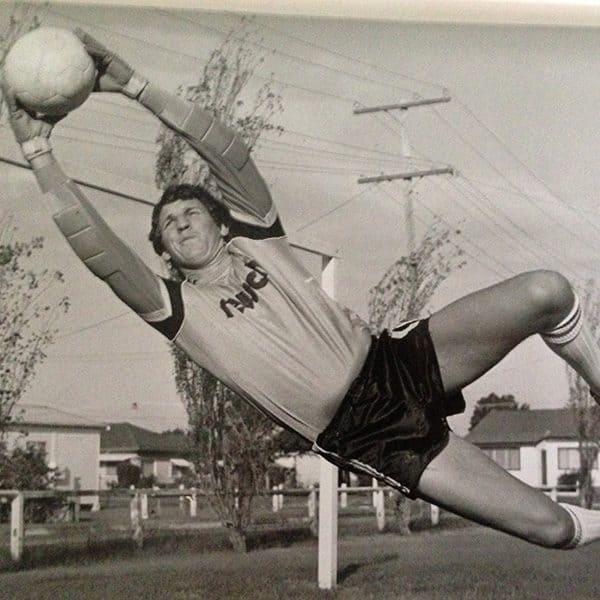 Terry Greedy Australian Goalkeeper Champion