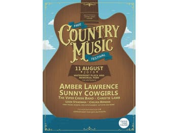 Country Music Festival The Entrance 2019 Poster