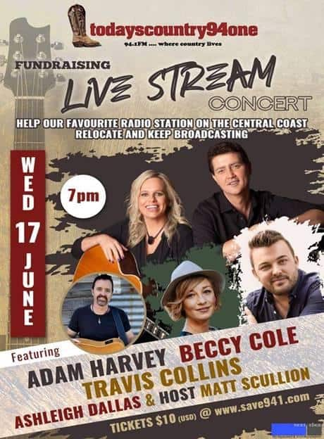 TC941 Live Stream Fundraising Concert